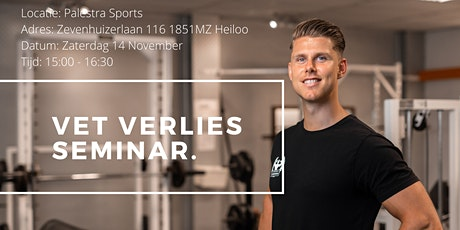 Seminar Afvallen & Vetverlies tickets