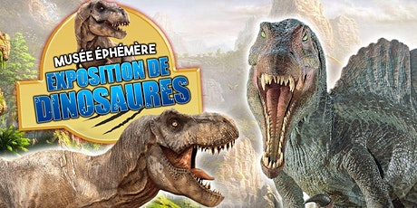 """Le Musée Ephémère présente: """"Les Dinosaures"""" à Perpignan - Tour 2021 billets"""