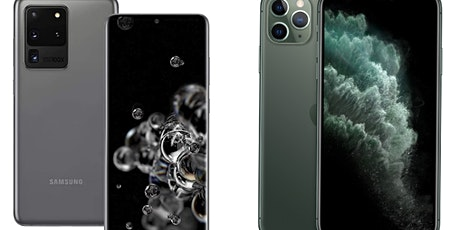 Win IPhone 11 Pro Max or Samsung Galaxy S20 Ultra 5G tickets