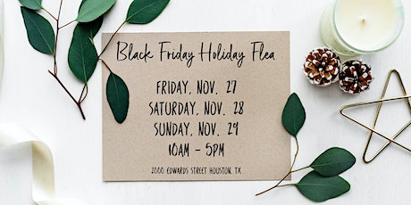 Flea at Silver Street: Black Friday Holiday Flea 2020 tickets