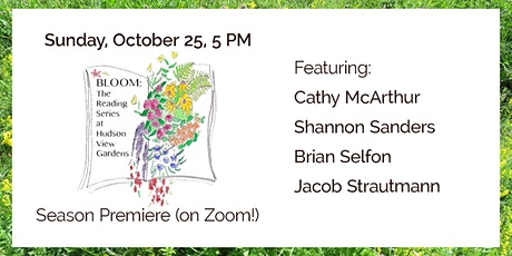 Bloom (on Zoom)—A Virtual Reading Series tickets