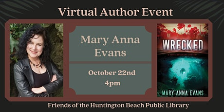 Zoom Author Event with Archeological Mystery Writer Mary Anna Evans tickets