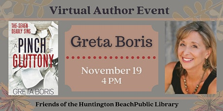 Virtual Author Event with Greta Boris tickets