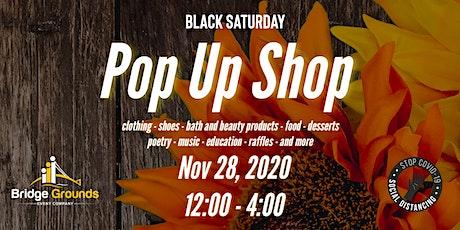 Black Saturday  - Pop Up Shop tickets