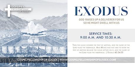November 1 | 9 AM  Gospel Fellowship Service tickets