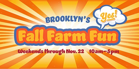 Green Meadows Farm Brooklyn's Fall Farm Fun tickets