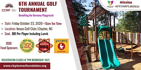 6th Annual Golf TournamentBenefitting the Harmony Playground tickets