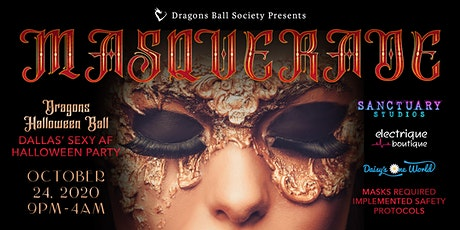 2020 Dragons Halloween Ball - Masquerade tickets