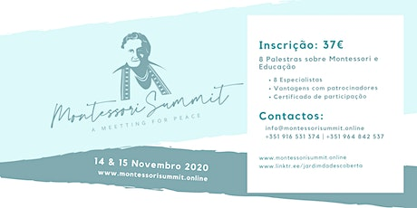 Montessori Summit - A Meeting for Peace ingressos