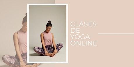 Yoga online entradas