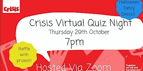 Crisis Bristol Group Virtual Quiz Night tickets