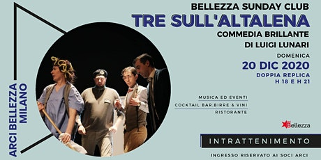 Bellezza Sunday Club | Tre sull'Altalena tickets