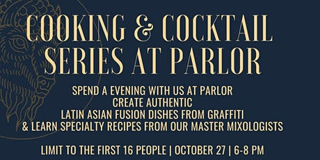 Cooking & Cocktail Series at Parlor OKC featuring Graffiti tickets