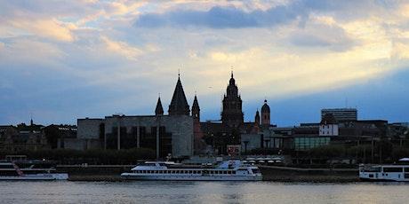 Fr, 30.10.20 Wanderdate Singlewandern Maaraue Ausblick auf Mainz für 50+ Tickets