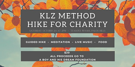 Mindful Hike for Charity tickets
