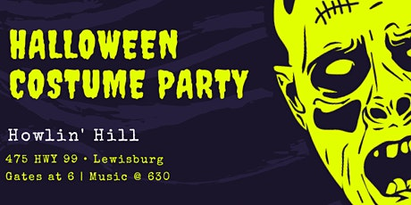 Halloween Bash : Live Music and Costume Contest tickets