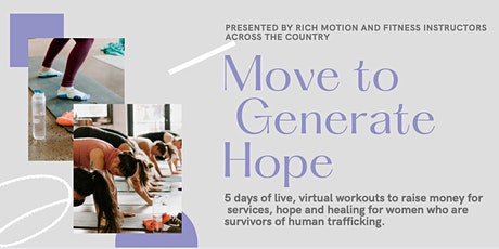 Movement to GenerateHope tickets