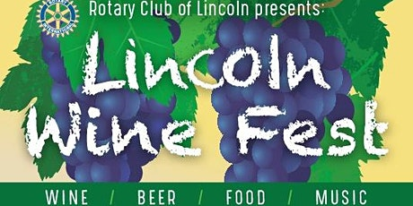 Lincoln Wine Fest - Postponed to 4/24/2021 tickets