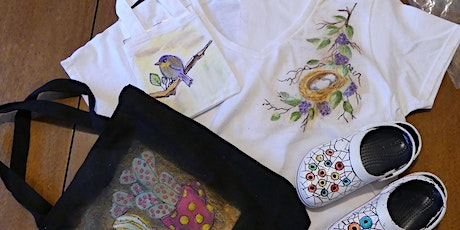 10AM-2PM Painting on Fabric - Holiday Gifts - Emily Stevens tickets