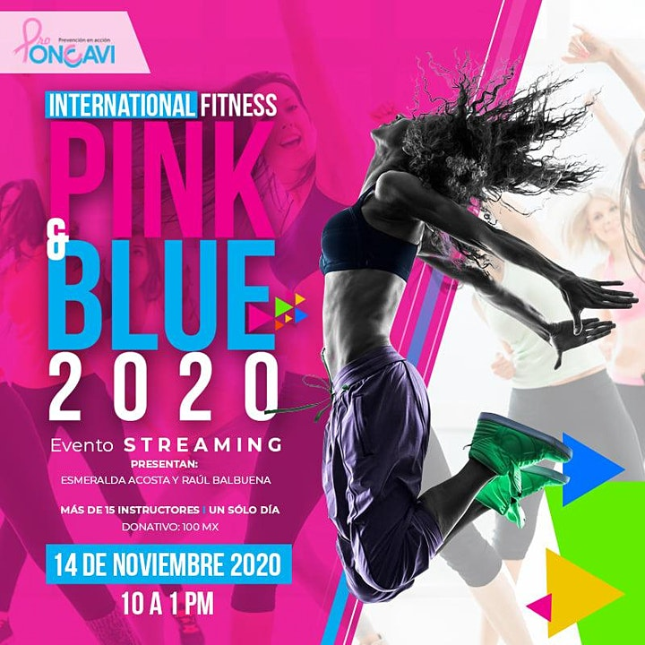 Imagen de INTERNATIONAL FITNESS PINK&BLUE ONLINE 2020