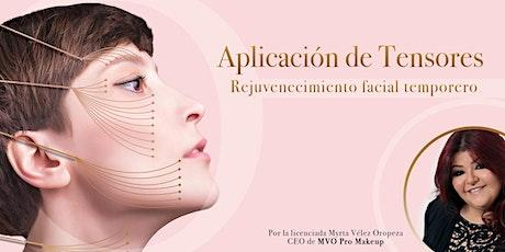 Seminario Tensores y Rejuvenecimiento facial temporero entradas