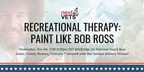 Recreational Therapy: Paint Like Bob Ross (Nov) tickets
