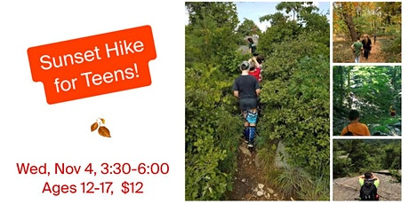 Sunset Hike for Teens! tickets