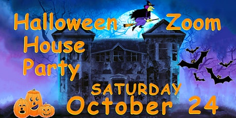 Halloween House Party ~ Costumes Optional ~ Online Zoom tickets
