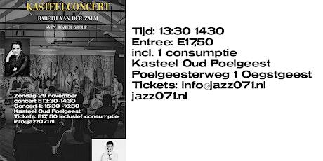Kasteelconcert Babeth van der Zalm ft. Sven Rozier group