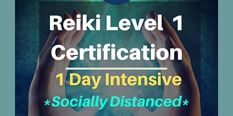 Reiki Level 1 Certification | 1 Day Intensive tickets
