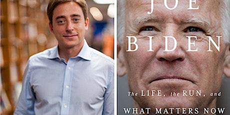 Evan Osnos and Jessica Yellin on Joe Biden - Free tickets