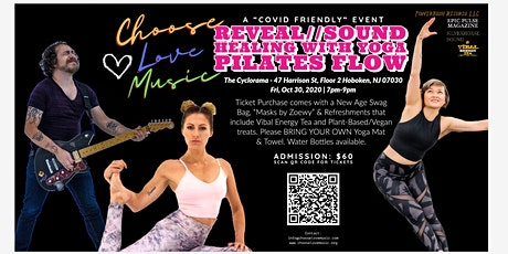 CLM Reveal: Sound Healing with Yoga/Pilates Flow tickets