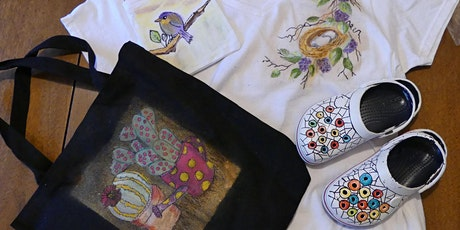 10AM-2PM Painting On Fabric Making: Holiday Gifts - Emily Stevens tickets