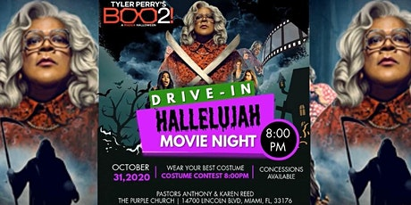 Hallelujah Drive-In Movie Night! Costume Contest. Bring Your Friends! tickets