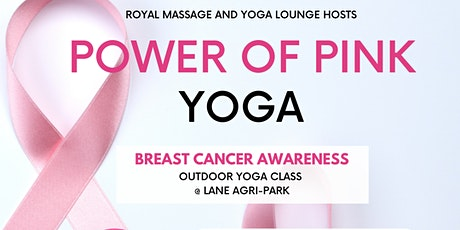 Power Of Pink Yoga -On The Lawn tickets