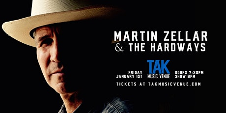 Martin Zellar & The Hardways at TAK Music Venue tickets