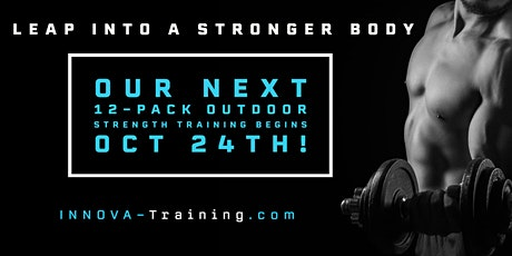 GRAB A 12-PACK OUTDOOR STRENGTH TRAINING SESSION TODAY tickets