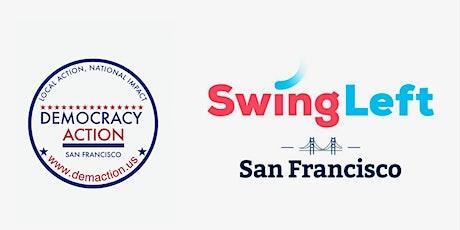 SF — GOTV for U.S. Senate, House, & Biden-Harris Phone Bank 11/1 tickets