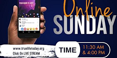 Sunday Morning Online Worship Service tickets