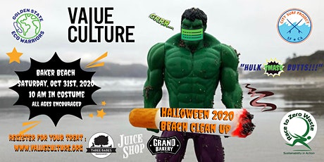 Halloween Beach Clean Up (all ages and costumes encouraged) tickets