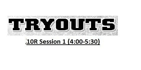Tribe VBC 10R Tryouts Session 2 tickets