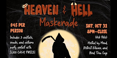 Heaven and Hell Halloween MASKerade tickets