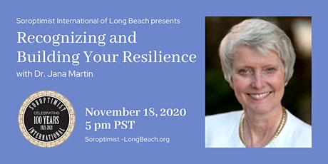 Recognizing and Building Your Resilience with Dr. Jana Martin tickets