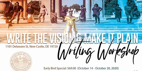 Write the Vision & Make it Plain Writing Workshop tickets