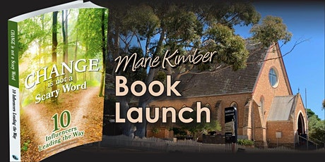 Book Launch - Change is not a Scary Word tickets