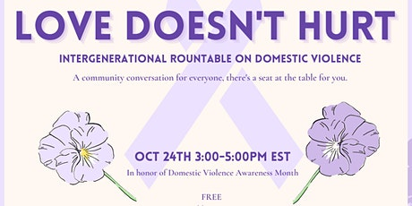 Love Doesn't Hurt: In Honor of Domestic Violence tickets