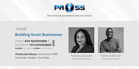 Personal Advancement Seminar Series (PASS 2020) tickets