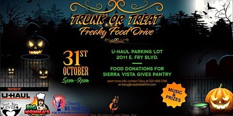 Trunk or Treat Freaky Food Drive tickets