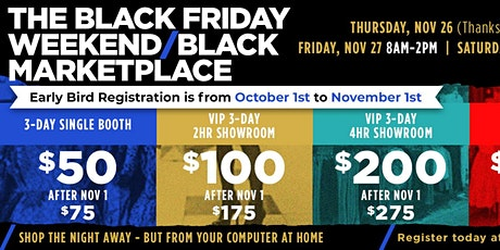 The Black MasterMind Group - Black Friday Weekend /Black MarketPlace tickets
