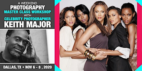 ICONIC PORTRAIT MASTERCLASS with Celebrity Photographer, Keith Major tickets
